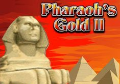 играть в автомат pharaohs gold 2